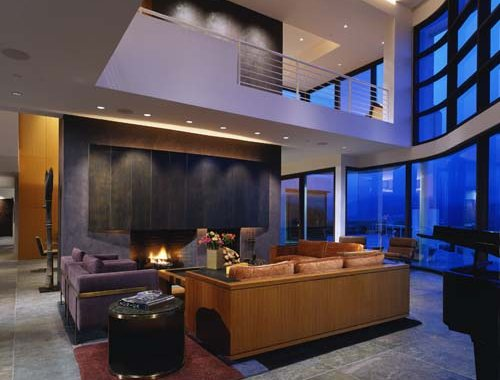 Modern interior design brukoff design associates - Modern house interior design ...
