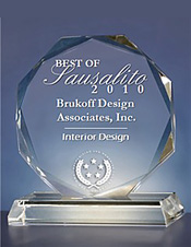 Best of Sausalito Interior Designer Award
